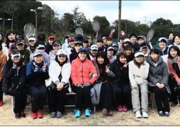 2020年2月9日女子ダブルス大会グループ別優勝・準優勝写真