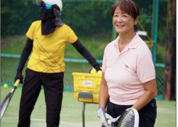 70才からの健康維持テニス 歓迎
